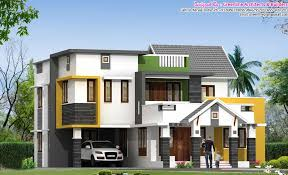 very stylish contemporary 5bhk villa design at 2600 sq ft