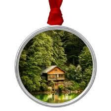 lake house ornaments keepsake ornaments zazzle