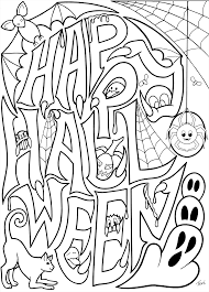 Halloween Printables Free Coloring Pages Free Coloring Book Pages Happy Halloween By Blue Star
