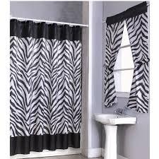 Animal Print Bathroom Decor Popular Bath Safari Stripe Fabric Chocolate Brown Animal Leopard