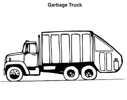 operating garbage truck coloring pages download u0026 print