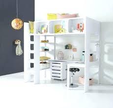 lit mezzanine ado avec bureau et rangement lit mezzanine blanc avec bureau lit mezzanine ado avec bureau et