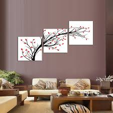 Living room Best wall decor for living room Black Wall Decor For
