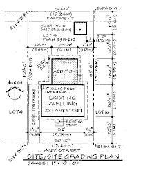 site plan site plan or survey requirements
