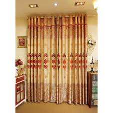 ombre purple floral embroidery luxury velvet thermal window curtains