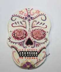 skull cake topper fondant sugar skull cake topper my sugar skulls