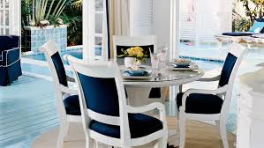 Dining Room Chairs White Beach House Dining Rooms Coastal Living