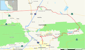 California State Map by California State Route 18 Wikipedia