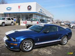Black 2008 Mustang 2008 Vista Blue Metallic Ford Mustang Shelby Gt500 Coupe 26832435