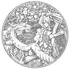 celtic dragon coloring pages 23399 celtic mandala design