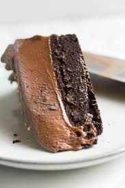 baileys chocolate mousse cake celebrating our blogiversary