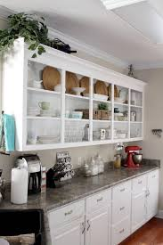 open kitchen shelves decorating ideas aluminium single bowl sink
