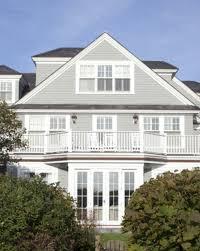 encouragement greige exterior colour scheme hamptons house