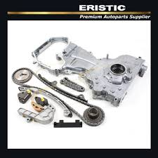nissan altima 2005 timing chain replacement full timing chain gears kit w engine oil pump fits nissan altima