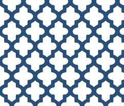 blue quatrefoil wallpaper moroccan quatrefoil in navy blue wallpaper pearl phire spoonflower