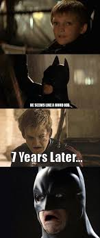 Batman Face Meme - batman s biggest mistake