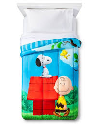 Peanuts Shower Curtain Bedroom Interesting Snoopy Bedding For Cute Kids Room Decor Ideas