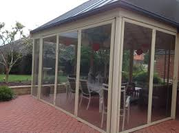 Enclosing A Pergola by Need Shade On West Side Of Enclosed Pergola