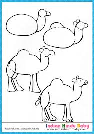 teach your kid to draw u0027camel u0027 with simple drawing tips https