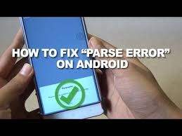 problem parsing apk how to fix problem in parsing the package error on android