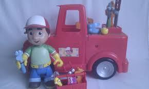 disney big talking 2 in 1 transforming red truck handy manny