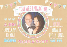 congratulations on your engagement card unique engagement cards special designs funky pigeon