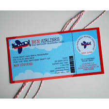 airplane birthday invitations u2013 frenchkitten net