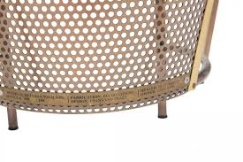 chrom design limited edition brass chairs from the world expo by frans