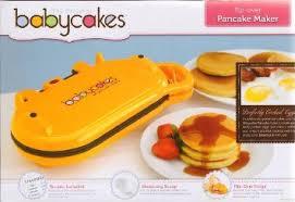 baby cakes maker buy babycakes flip pancake maker orange by babycakes in cheap