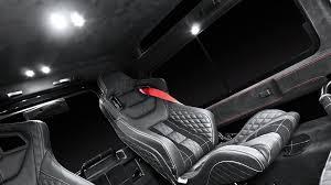land rover defender rear cabin led lights interior upgrades and