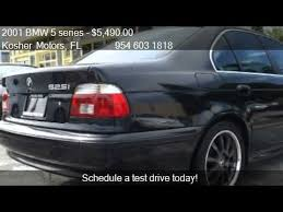 bmw 525i sport for sale 2001 bmw 5 series 525i sport w black mat rims for sale in