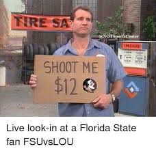 Florida State Memes - a notsports center unleaded shoot me live look in at a florida