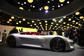 renault supercar renault trezor at the paris motor show live photos u0026 videos