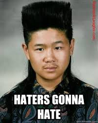 Funny Hater Memes - mullet memes haters gonna hate picsmine