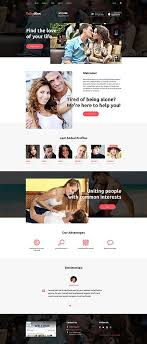 Check out this professional theme for dating agencies  It offers a clean layout with an assortment of custom features and elements that make it look and     Pinterest