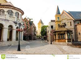 european style buildings stock photo image 52726132
