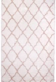 rugs area shag rug modern moroccan trellis lattice floor decor