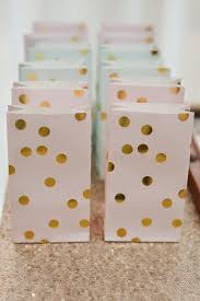 gold favor bags pink blue and gold polka dot favor bags sweet 16 party ideas