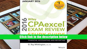 download wiley cpaexcel exam review 2016 study guide january