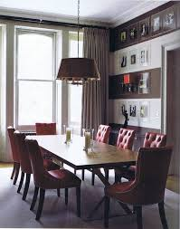 dining purple dining rooms