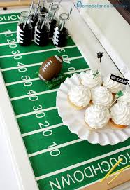 super bowl football field party tray hometalk