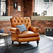 Leather Armchair Wallace Sacks Ascot Leather Armchair
