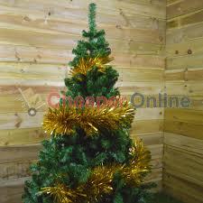 3m x 25cm luxury extra chunky cut tinsel garland christmas tree