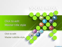 social media powerpoint template free download 55 best powerpoint