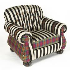 Childs Armchair Courtly Campaign Club Chair From Mackenzie Childs Ltd