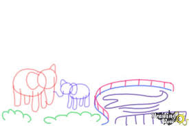how to draw a zoo drawingnow