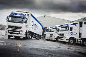 volvo truck images chiltern cold storage takes delivery of volvo trucks through flexi