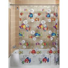 Fish Curtains Clear Fish Shower Curtain Ideas Bathtub For Bathroom Ideas