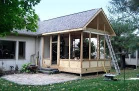 screend porch idea screened in porch ideas with deck screened in
