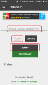 sms bomber apk sms bomber apk version 2 15 for android 2017